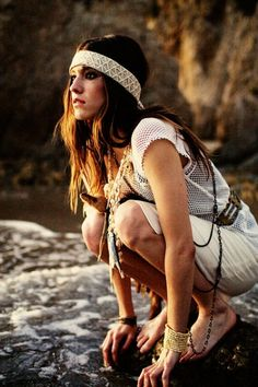 Boho bohemian hippie hippy gypsy girl. For more follow www.pinterest.com/ninayay and stay positively #pinspired #pinspire @ninayay