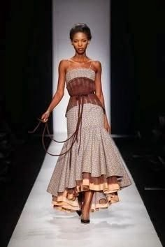 shweshwe dresses outfits 2019 designs - style you 7 South African Fashion, African Fashion Designers, African Inspired Fashion, Africa Fashion, Ethnic Fashion, African Attire, African Wear, African Women, African Style