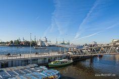 Die Liebe zum Hamburger Hafen // #Hamburg #HamburgerHafen #Hafen #Schiffe #MeerART / gepinnt von www.MeerART.de