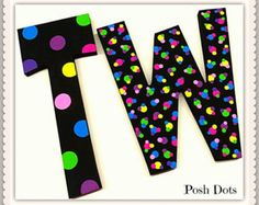cartas letras de madera letras infantiles por poshdots
