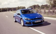 2013 Volkswagen Scirocco R  Lighter, more powerful, and more front-drive than the Golf R we got here.