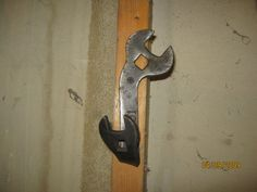 Wrench hooksman caverail road wrenchwall by MuddyRiverIronWorks, $20.00