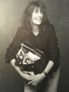 I like Jane Birkin. She got the Birkin bag and Chanel black jacket. Cool