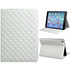 This soft grid pattern faux leather & TPU rubber flip case can protect your iPad from scratches, bumps and dust.  The Precisely fits the contours of the iPad Air and it has direct external access to all buttons, controls, and ports. The TPU rubber shell will hold your iPad Air in place. You can watch video freely with its stand function.