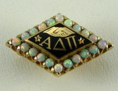vintage pin from the 1920s, love the opals
