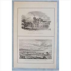 Antique Scottish Print - Inverness & Gordon Castle Morayshire - Circa 1880's on eBid United Kingdom