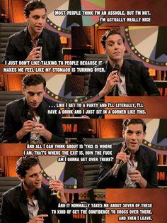 Mika Blue Balls interview stills & quote 2012 (Mika's interview starts @ 5.04)