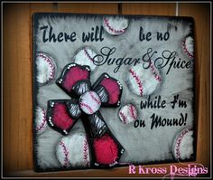 inspired by my daughter who is a hs softball pitcher.... all my designs are on Facebook for purchase at R Kross Designs.
