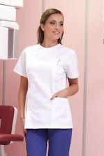 PAGAMENTO ANCHE ALLA CONSEGNA Casacca Camice Donna da lavoro Medico Estetista Farmacista Abbigliamento Abiti