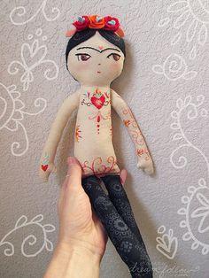 :: Crafty :: Cloth Doll :: 2 :: frida | by merwing✿little dear