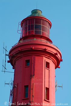 }{     Lighthouse at Cap Ferret, Arcachon ~
