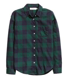 Navy and green plaid | H&M US