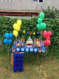 Lego Chima birthday party sweettable decoration. Legi Chima rodjendanska zabava, dekoracija slatkog stola.