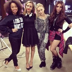 Little Mix, love when they dont match each other