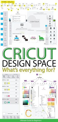 Cricut Design Space Tutorial For Beginners - 2019 Wow! This is the BEST Cricut Design Space Tutorial everWow! This is the BEST Cricut Design Space Tutorial ever Cricut Air 2, Cricut Help, Inkscape Tutorials, Cricut Tutorials, Sewing Tutorials, House Of Turquoise, Cricut Ideas, Cricut Project Ideas, Cricut Vinyl Projects