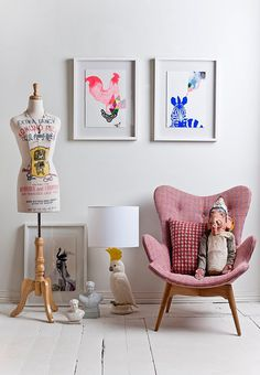 lots to like here - with a lot of love for the cockatoo lamp