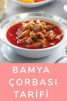 Bamya Çorbası Tarifi Turkish Recipes, Ham, Salsa, Beef, Food, Kitchens, Meat, Salsa Music, Restaurant Salsa