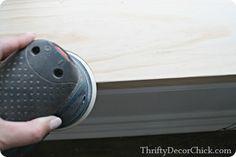Thrifty Decor Chick: DIY craftsman window trim