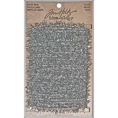 TIM HOLTZ: Idea-ology Tinsel Twine Tinsel Twine is a metallic strand that can be used to add a sparkling effect to various craft projects and home decor items. Package contains 6 yards of 1/4-inch-wid
