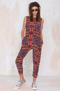 Carolina K Anabelle Silk Jumpsuit