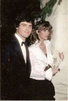 Donny and Debbie.  Beautiful! 35 years together back in May!