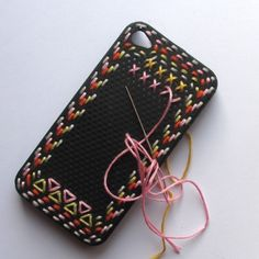 iphone snazzyness -another crafty idea to my list!