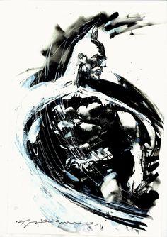 Batman by Bill Sienkiewicz * - Art Vault