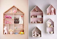 Para você que está procurando prateleiras para quarto de bebê e de criança, uma seleção dos modelos mais incríveis disponíveis! Uma cabe no seu projeto!