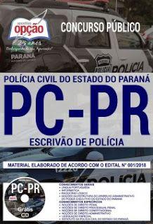 Apostila Concurso Pc Pr 2018 Pdf Download Com Imagens Concurso