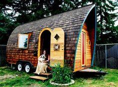 tiny house on wheels.