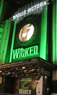 Wicked Musical at the Apollo Victoria Theatre... Been there, done that!!!!... And I would do it again... and again, and again!