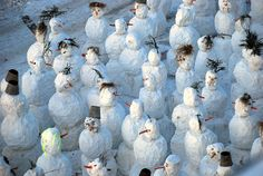 24 Most Funny Snow Creatures | PicturesCrafts.com