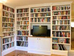 Entertainment Center Bookcase Idea