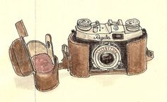 I saw a camera much like this one in a charity shop I was volunteering in. I wanted to buy it but not knowing much about vintage camera's I didnt buy it. Regret it to this day. When I held it in my hand It felt snug and so my love for vintage cameras began.