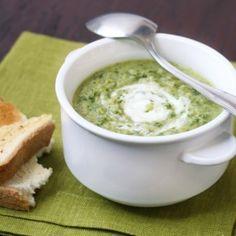 ricetta Crema di broccoli con farro