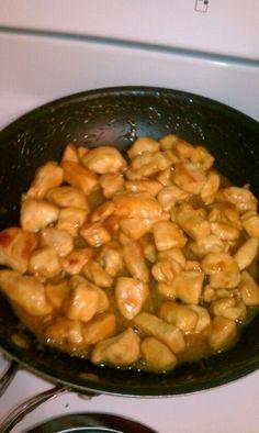 Honey Chicken- The girls loved this.