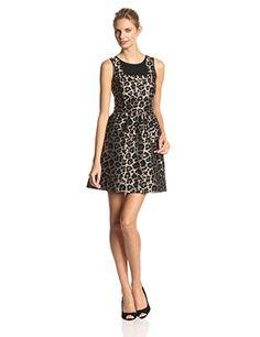 Kensie Women's Leopard Jacquard Dress, Black Combo, Mediu... http://www.amazon.com/dp/B00LARANI6/ref=cm_sw_r_pi_dp_FyQrxb0A39KFQ