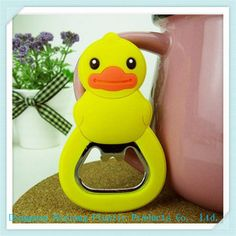 Rubber Duck Fashion PVC Bottle Opener