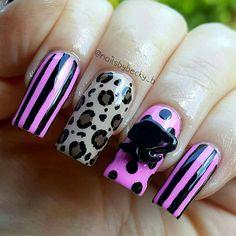 Pk of 2 #3dnailart #barbie only 29p at www.charliesnailart.co.uk Also available in pink #nails #naildesign #leopardprint #nailart #pinknails #nailideas #nailtrend #nailenvy #nailshop #nailfashion #nailaccessories