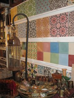 Resurface table with Moroccan tile?
