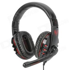 Somic G927 Gaming Headphones w/ Microphone - Black + Red (USB Plug / 220cm)