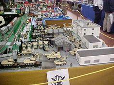 Lego army base