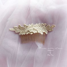 "Wedding comb gold lace leaf wedding comb , Greek goddess comb decorative hairpiece bridal fascinator wedding hair Jewelry accessories by FALAFALA Wedding comb gold lace leaf wedding comb , Greek goddess comb decorative hairpiece bridal fascinator wedding hair Jewelry accessories*comb width 3""*overall lace width approx 5""*""*""*""*""*""*""*""*""*""*""*""*""*""*""*""*""*""*""*""*""*International Shipping - Ships Within 3-5 business daysItem location - Hong Kong Estimated delivery time : United States - 12-22…"