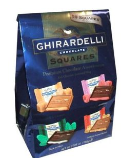 Chocolate Lollies, Chocolate Gifts, Chocolate Lovers, Ghirardelli Chocolate Squares, Gourmet Recipes, Snack Recipes, Chocolate Brands, Chocolate Recipes, Food Gifts