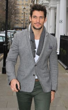 David Gandy - ever handsome and stylish - the fabulous face of Dolce & Gabbana