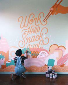 Likes, 655 Comments - Lauren Hom Lauren Hom, Ikea Desk, Home Room Design, My Dream, Hand Lettering, Grateful, Corner, Typography, Calligraphy