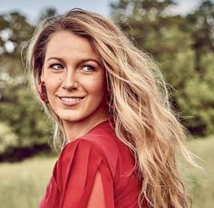 """Blake Lively. #BlakeLively. """"View every piece of coal as the potential diamond in rough. Goodness and Beauty do exist in every being."""" - Deodatta V. Shenai-Khatkhate. Blake Lively for Glamour Magazine August 2017"""