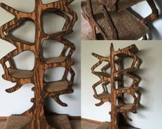 Handmade Tree Inspired Cat Tree by EnchantedHomeDesigns on Etsy Home Design, Carpet Cover, Carpet Trends, Cat Condo, Unique Cats, Tree Shapes, Pet Furniture, Tree Branches, Runes