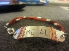 My tribute to the NIN cover of Gary Numan ... METAL! Get it at my Etsy shop.