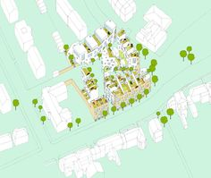 GOLDHAWK VILLAGE, Hammersmith & Fulham housing – design by Peter Barber Architects